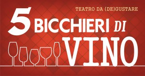 5 bicchieri di vino